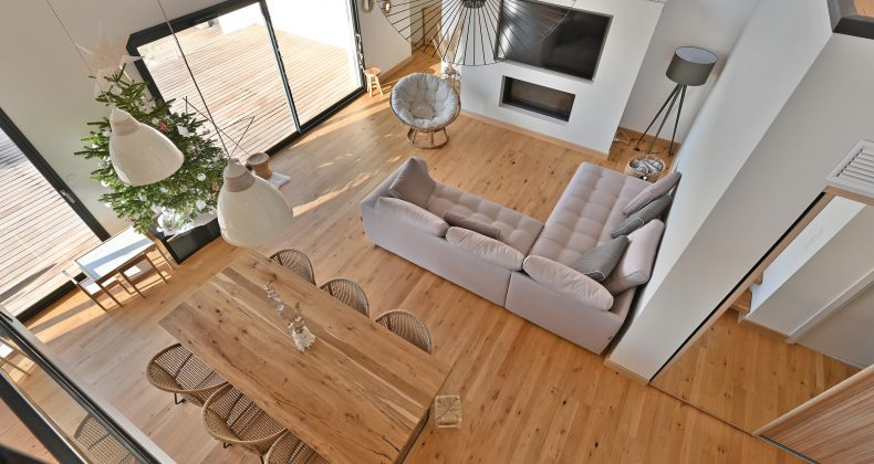 salon villa architecte