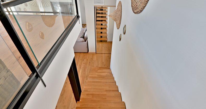 escalier villa